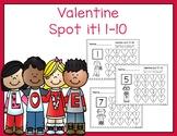 Valentine Spot It 1-10