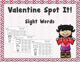 Valentine Spot It Sight Words