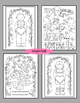 Valentine, St. Patrick's, Easter, Spring, Summer Activity Coloring Pages BUNDLE