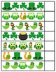 Valentine St Patrick's Easter Complete the Pattern Activity
