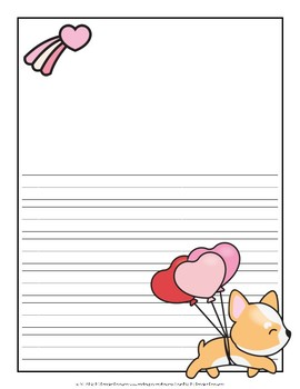 Valentine Writing Pages