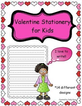 Valentine's Day Stationery