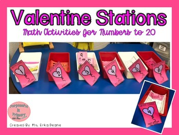 Valentine Stations! Number Sense to 20