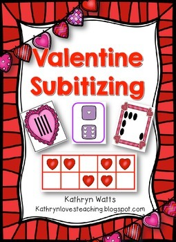 Valentine's Day Subitizing