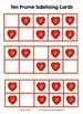 Valentine's Day Subitizing