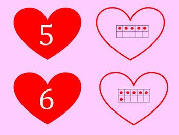 Valentine Subitizing