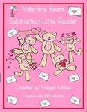 Valentine Subtraction Little Reader