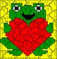 Valentine Subtraction Mystery Pictures