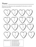 Valentine Subtraction Pack