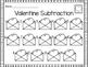 Valentine Subtraction Write the Room