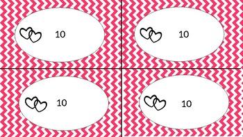Valentine's Day Addition to 10- No Prep