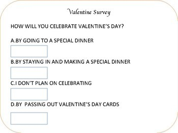 Valentine Survey