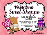 Valentine's Day Math Task Card Bundle