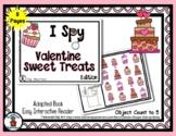 Valentine Sweet Treats - Adapted 'I Spy' Easy Interactive