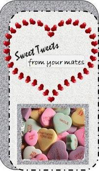 Valentine Sweet Tweets - Compliment Card for Classmates