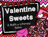 Valentine Sweets - A Math or Literacy Game