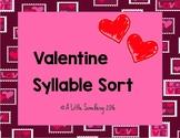Valentine Syllable Sort