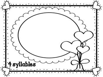 Syllables ~ Valentine