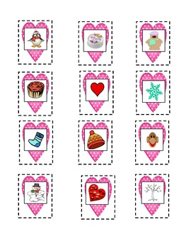 Valentine Syllables- Literacy Center