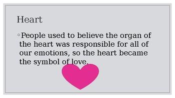 Valentine Symbolism Lesson Plan