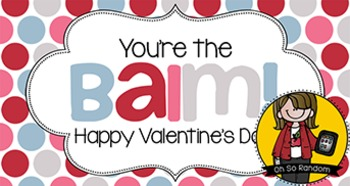 Valentine Tag   Balm