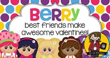 Valentine Tag   Berry Best Friends