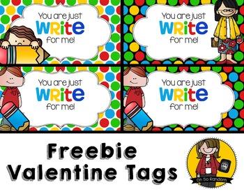 Valentine Tag | FREEBIE