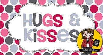 Valentine Tag | Hugs & Kisses