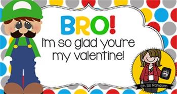 Valentine Tag | Luigi