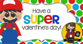 Valentine Tag | Mario II