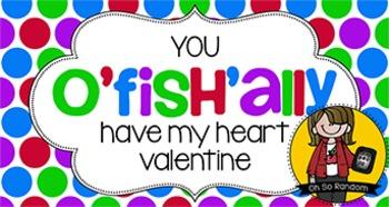 Valentine Tag   O'fish'ally