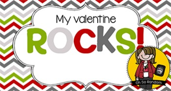 Valentine Tag   Rocks