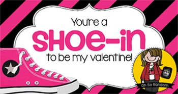 Valentine Tag | Shoe-in