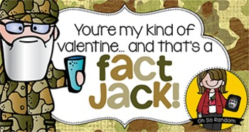 Valentine Tag | That's a Fact Jack
