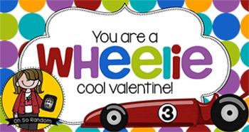 Valentine Tag | Wheelie