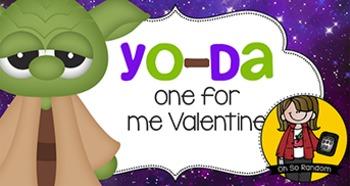 Valentine Tag | Yoda