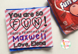 FREEBIE Editable Fun Dip Valentine Tags