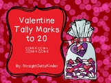 Valentine Tally Marks to 20