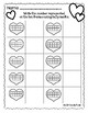 Valentines Day Math Tally Marks to Ten Frames Math Center