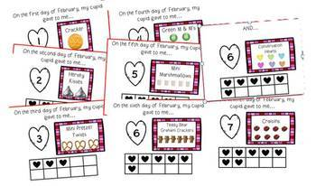 Valentine Teddy Bear Snack Mix and Activity