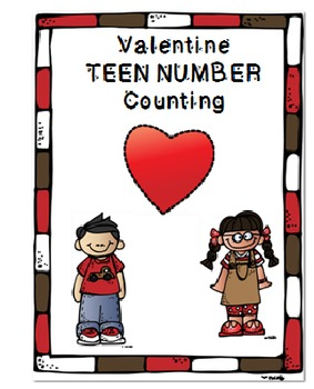 Valentine Teen Number Counting