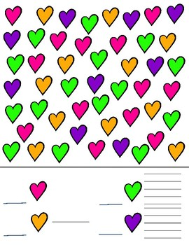Valentine Teen Numbers and Graphing