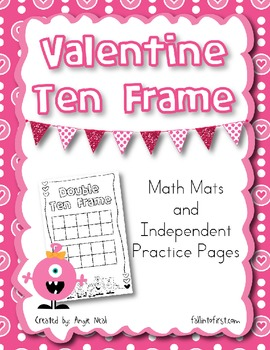 Valentine Ten Frame Activity
