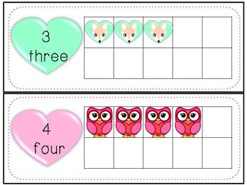 Valentine Ten Frame Freebie!