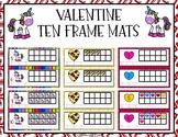 Valentine Ten Frame Mats