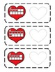 Valentines Day Math Ten Frames (1-20) - TWO Math Centers