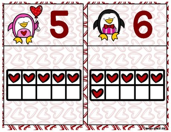 Valentine Ten Frames