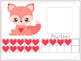 Valentine Ten Frames Number Match 0-20