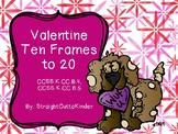 Valentine Ten-Frames to 20