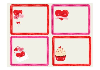 Valentine Thank You Notecards